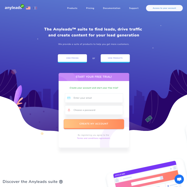 Anyleads - The Growth Gallery for Startups