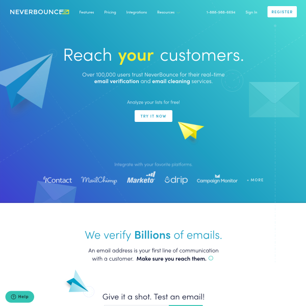 NeverBounce - The Growth Gallery for Startups