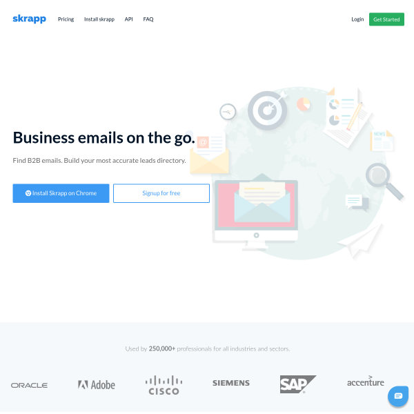 Skrapp - The Growth Gallery for Startups
